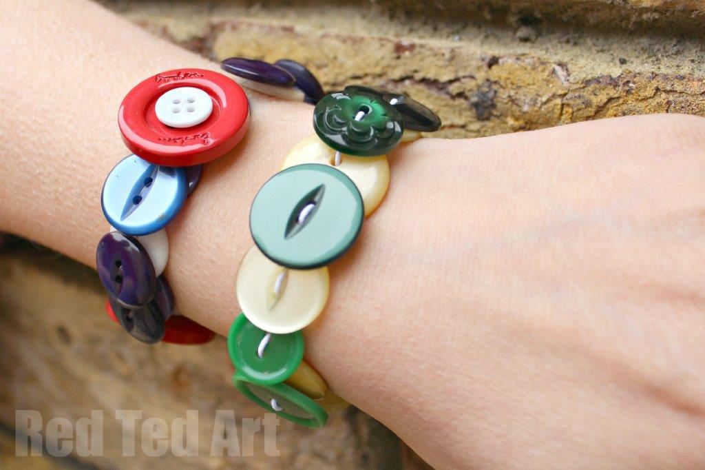 12 Button Craft Ideas Fun Crafts Kids